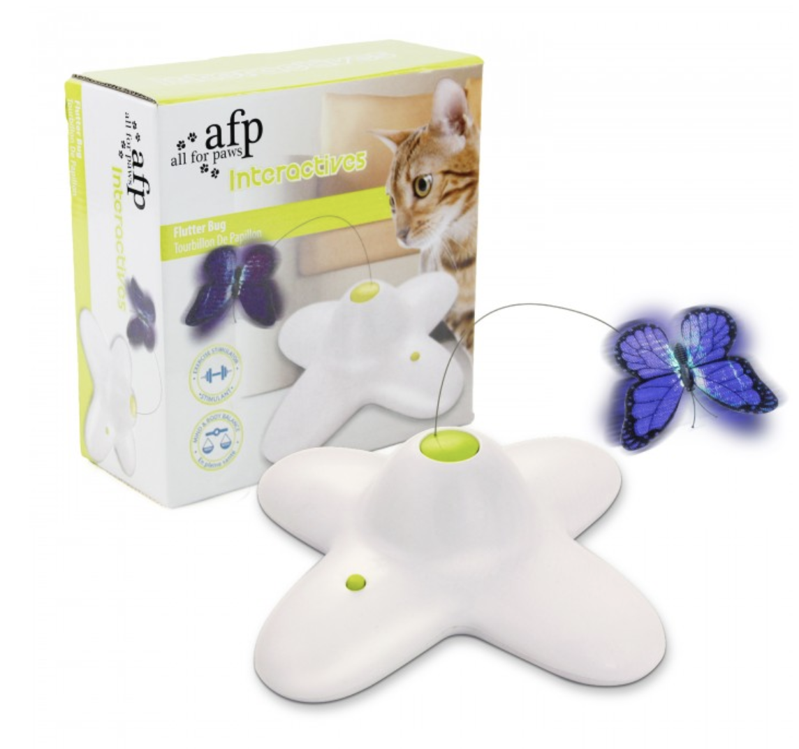 Flutter Bug Smart Toy Cat