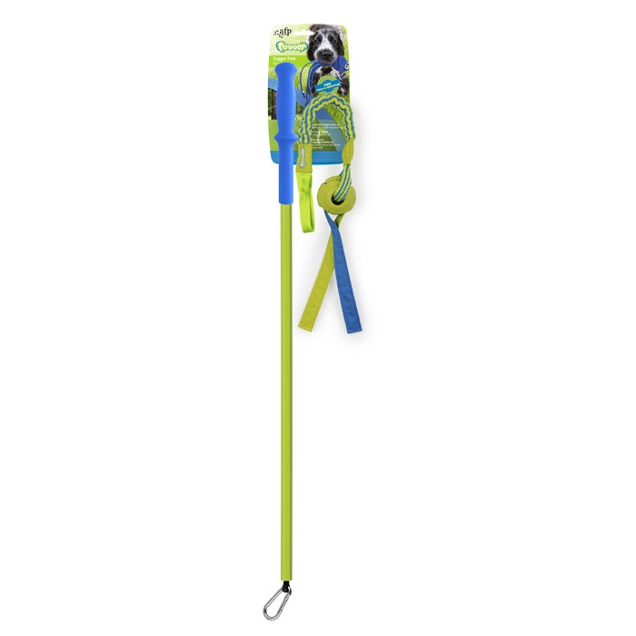 Tugger Pole with Elastic Tug Bungee Ball
