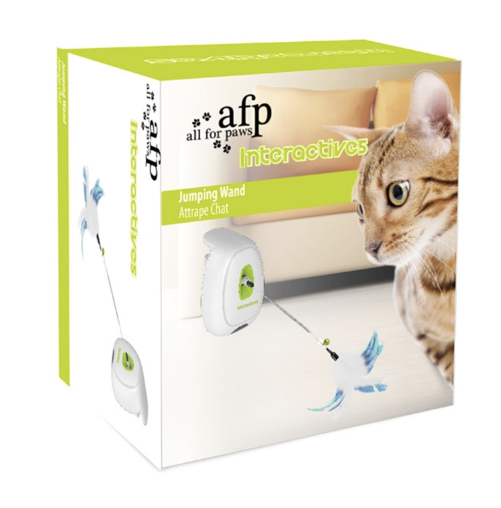 Jumping Wand Smart Toy Cat